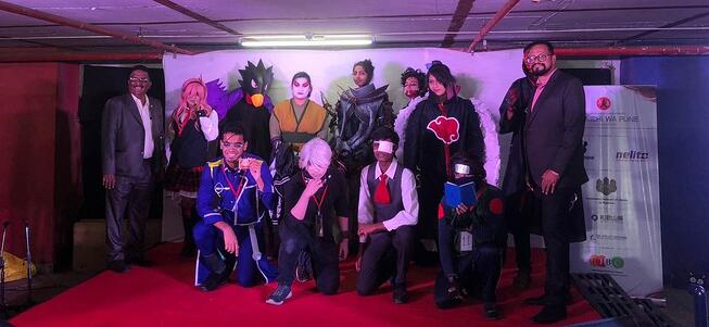 Cosplay participants