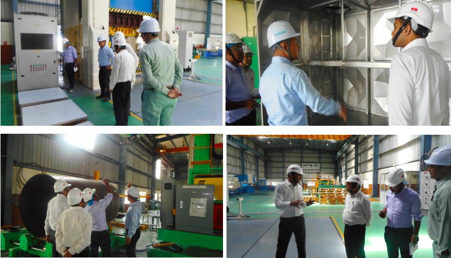 NWSC plant visit