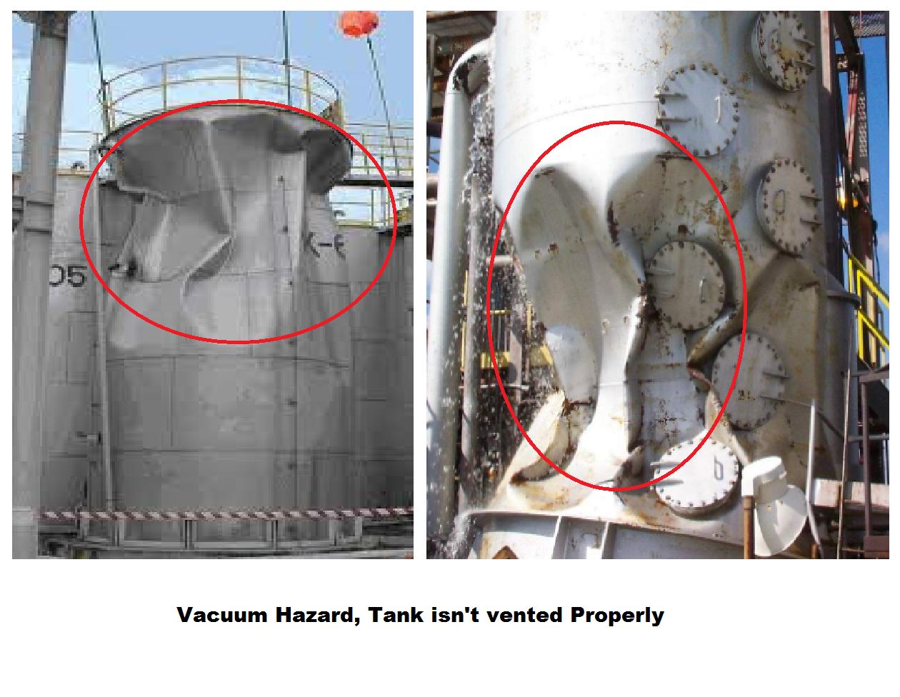 Vacuum hazard